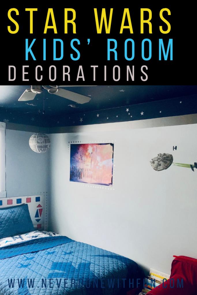 Outer E Kids Bedroom Star Wars Details Neverdonewithfun