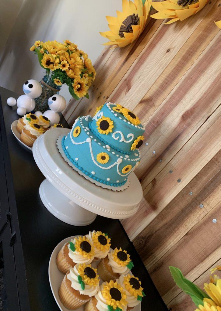 Terrific Buttercream Oreo Sunflower Cupcakes Neverdonewithfun Birthday Cards Printable Opercafe Filternl