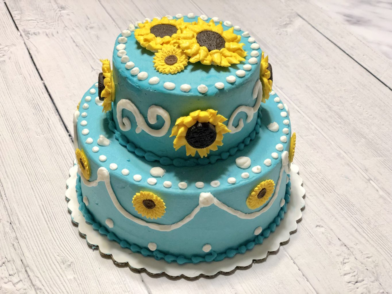 Wondrous Buttercream Oreo Sunflower Cupcakes Neverdonewithfun Birthday Cards Printable Opercafe Filternl